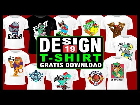 Cara Membuat Desain Kaos di Photoshop Untuk Pemula - Logo Distro Keren ( Tutorial Lengkap ).
