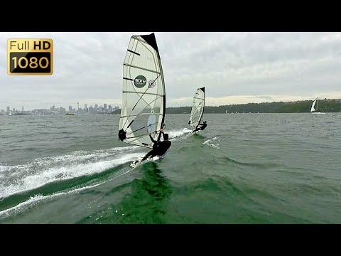 Nielsen Park, Sydney Windsurfing ~ 1080p (HD)
