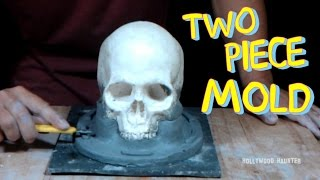 How To Make A Human Skull Mold: Part 3