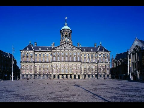 Tourist Attractions in Amsterdam : Royal Palace Amsterdam.