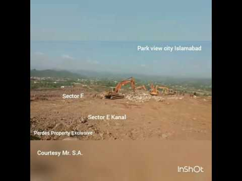 Park view city islamabad sector E development