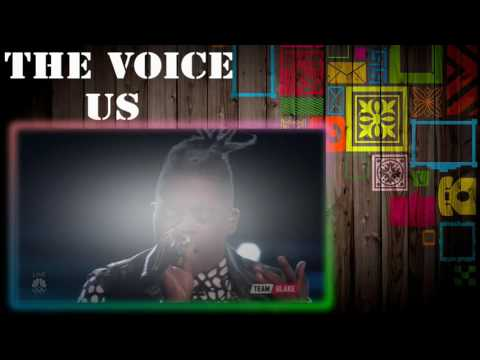 """The Voice US  Top 9  Eliminations - Paxton Ingram """"How Will I Know"""""""