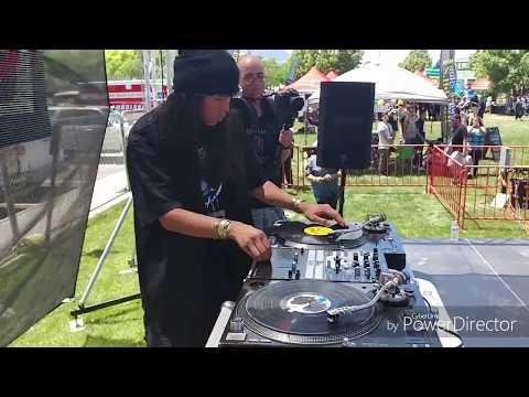 DJ Ace Black Live At Victors Tires Car Show 2017