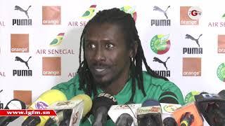 """Aliou Cissé : """" Ce serait un plaisir de voir Sadio Mané remporter des trophées individuels"""""""