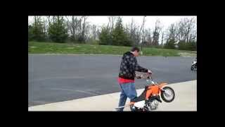BIG GUYS GOING HARD ON LITTLE BIKES IN PREPARATION FOR DUDE DATE RIDE!!!