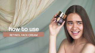 Ultra-Nourishing Skin Care in 3 Steps | How to Use WOW Skin Science Retinol Face Cream