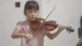 篠崎バイオリン教本2より 狩人の合唱 ウェーバー Shinozaki Violin Met...