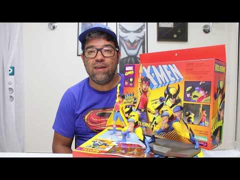 UNBOXING X-Men '92 Wolverine & Jubilee 1/10 da kotobukiya