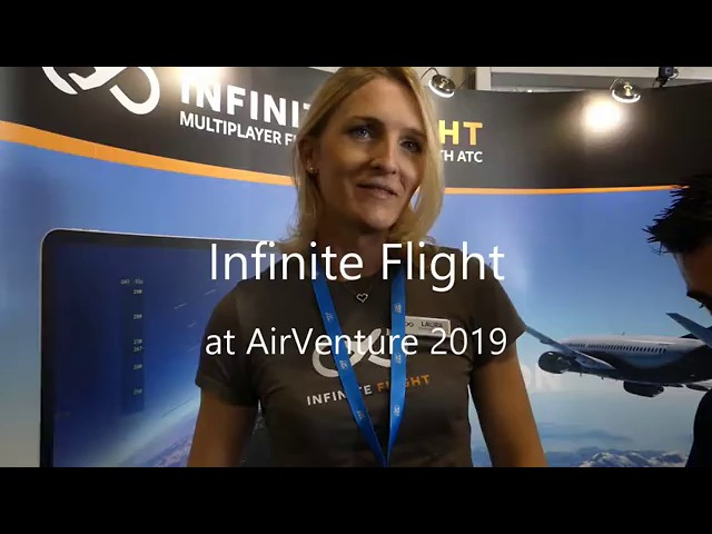 InfiniteFlight Laura Laban at AirVenture2019