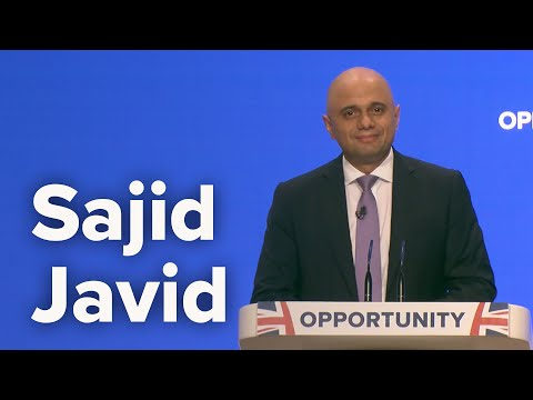 Sajid Javid, Home Secretary - Speech to Conservative Party Conference 2018