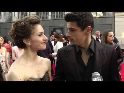Marianela Nunez and Thiago Soares Interview - The Olvier Awards 2014