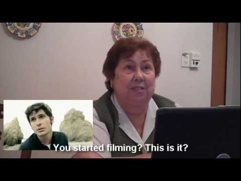"Foreign grandma reacts to ""Dramatic Song"" by Tobuscus"