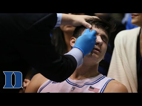 Grayson Allen Injured Twice vs Miami