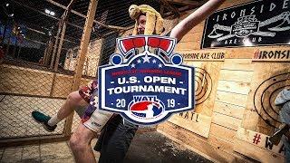 World Axe Throwing League 2019 US Open Recap