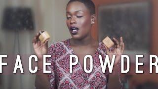 Powder for DARK SKIN Ben Nye MAC Hourglass