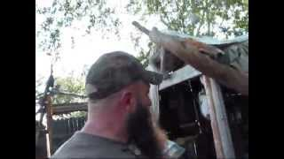 Idaho Hillbilly Homestead # 107 Busy Making Knives And Getting Things Done Before Winter