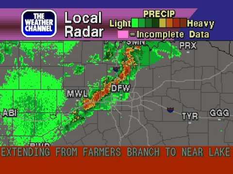 WeatherSTAR 4000 Emulator v3 - Irving Texas - October 17th 2011 - 9:13 PM CDT