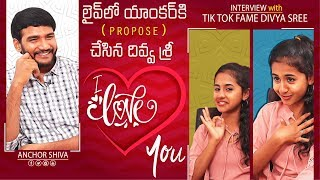 Tik Tok Fame Divya Sree Exclusive Interview | Anchor Shiva | Mana Media
