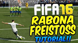 FIFA 16 DIREKTER RABONA FREISTOSS TUTORIAL (DEUTSCH) - RABONA FREE KICK/TOR - ULTIMATE TEAM DEUTSCH