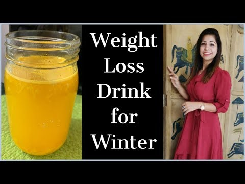 Lemon & Ginger Weight Loss Drink / Fat Cutter Drink for Weight Loss in Winter – Morning Routine