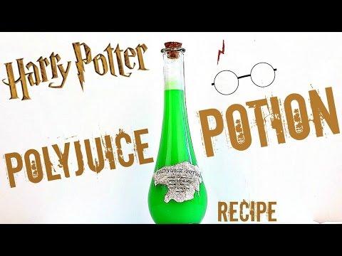 HARRY POTTER POLYJUICE DRINK POTION RECIPE
