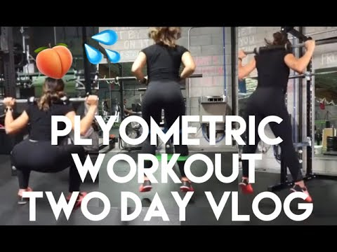 Two Day Vlog (Personal Trainer Life) | Plyometric Leg Workout, Unboxing & Hot Yoga