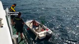 GC realiza más de 200 inspecciones a embarcaciones en el litoral murciano