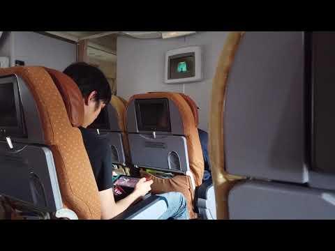 ignoring-safety-demo-|-singapore-airline-|-singapore-to-manila