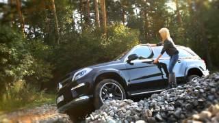 NEW Mercedes Benz GL 400  Тест драйв в программе 'Москва рулит'(, 2014-11-27T06:47:06.000Z)