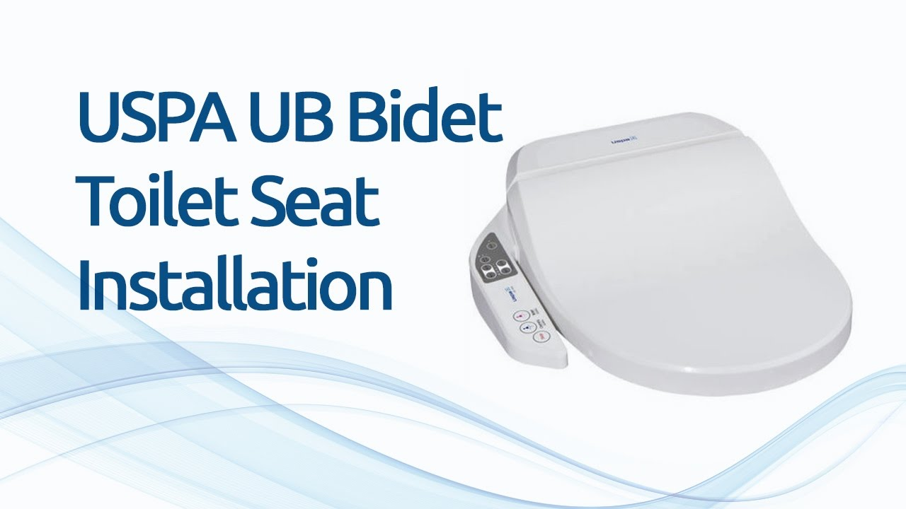 Uspa Ub Bidet Toilet Seat Installation Uk Youtube
