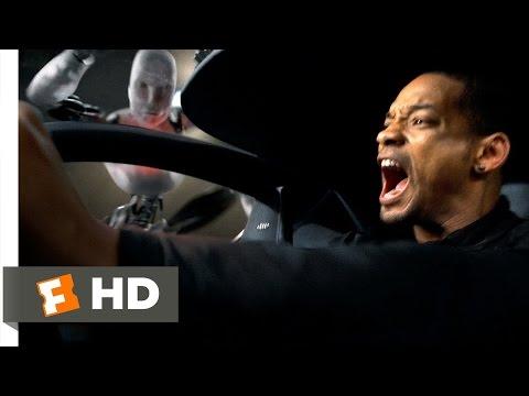 I, Robot (3/5) Movie CLIP - Freeway Ambush (2004) HD