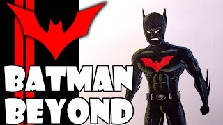How To Draw Batman beyond/Como Dibujar a Batman del Futuro/Speed Painting