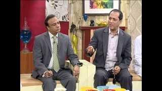 Prof.M.A.Khan Noori & Syed Bilal Qutab in ujp Nazar Special at Geo TV
