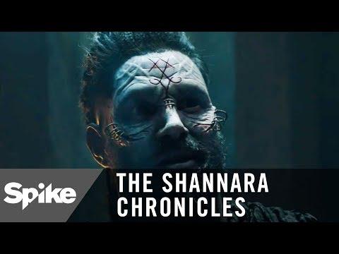 'Manu Bennett (Allanon) is the Warlock Lord!' Exclusive Clip   The Shannara Chronicles (Season 2)