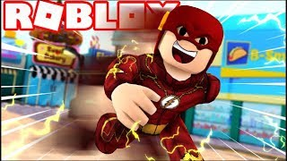 THE FLASH SUPER HERO TYCOON IN ROBLOX