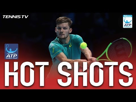 Goffin Pressure Strike Hot Shot Nitto ATP Finals 2017