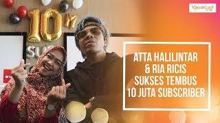 Atta Halilintar & Ria Ricis Raih Diamond Play Button Pertama di Asia Tenggara