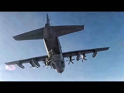 Special Operators Parachute Over Sweden • SOCEUR