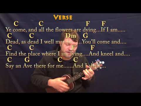 Danny Boy (Traditional) Ukulele Cover Lesson in C with Chords/Lyrics