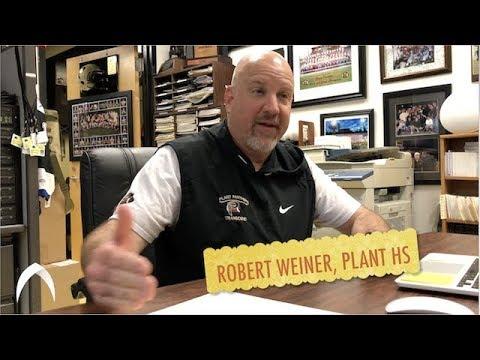 ROBERT WEINER, PLANT HIGH SCHOOL FOOTBALL - HOW WE WATCH FILM