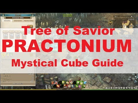 Mystical Cube - Practonium Guide