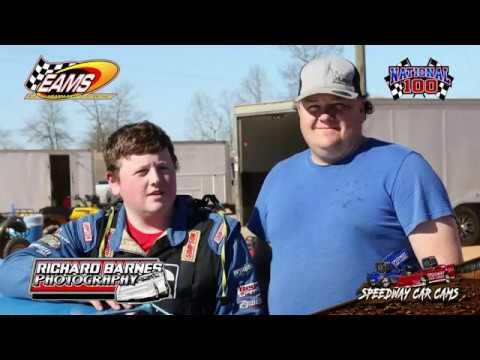 #17 Logan Roberson - 604 Crate - National 100 - 1-27-19 East Alabama Motor Speedway