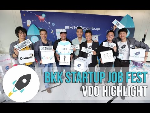BKK Start It Up Job  Fest 2015 - VDO Highlight