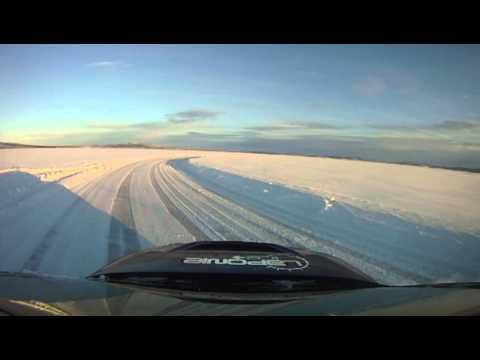 Yvan Muller Laponie ice driving