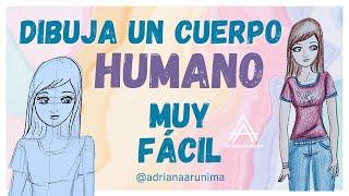 Como dibujar un cuerpo humano de mujer