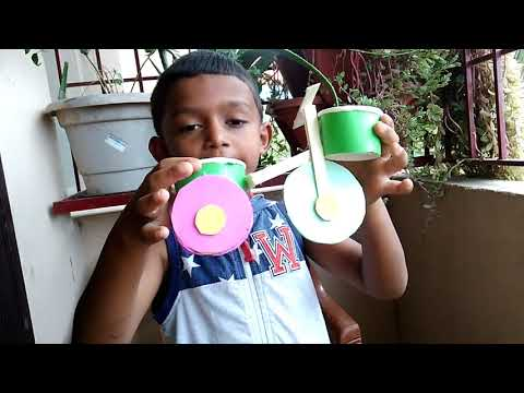 How to make cycle/How to make tricycle/Cycle craft/Best out of waste/How to make cycle with paper