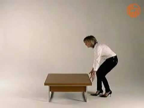 Didone Q - Tavolino da salotto trasformabile in tavolo da pranzo ...