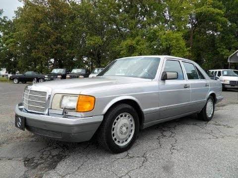 Short takes 1988 mercedes benz 300se start up engine for 1988 mercedes benz 300se