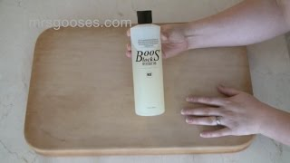How To Oil A Wooden Chopping Board