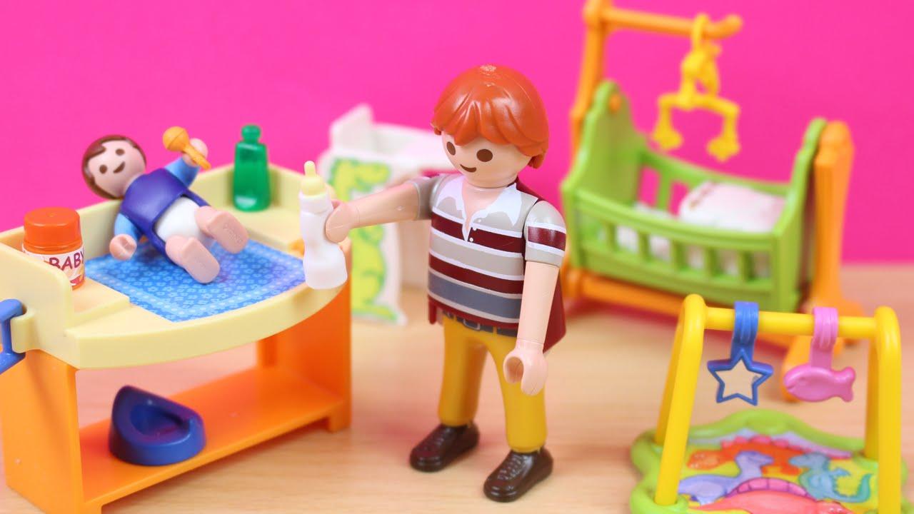 Habitación del Bebé con cuna de Playmobil | Juguetes de Playmobil en ...